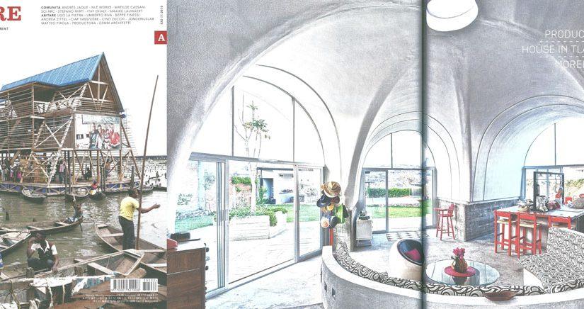 Casa en Tlayacapan mencionada en Revista Abitare, Italia
